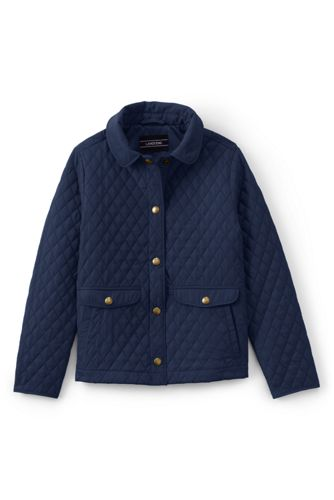 Girls' Quilted Jacket