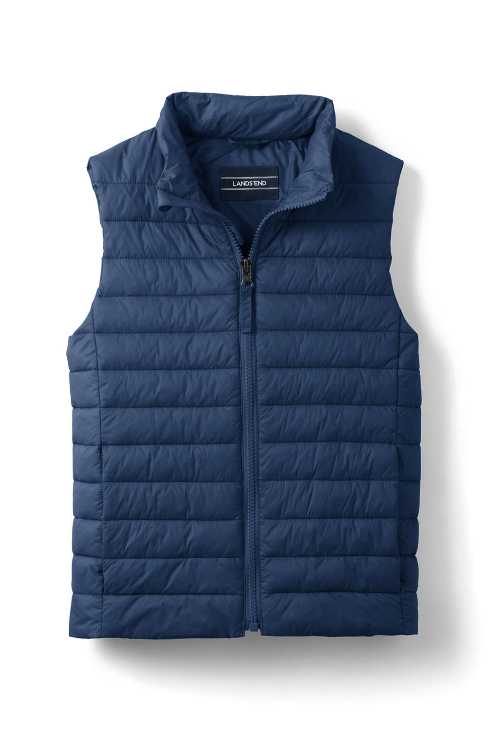 347be015522a School Uniform Kids Insulated Down Alternative ThermoPlume Vest from ...