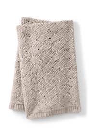 Chenille Lattice Throw Blanket