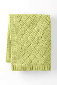 Chenille Lattice Throw