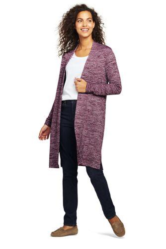 Women's Plus Cloudspun Longline Cardigan