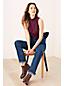 Le Haut en Coton Modal Stretch Sans Manches, Femme Stature Standard