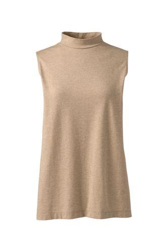 Le Haut en Coton Modal Stretch Sans Manches, Femme Grande Taille