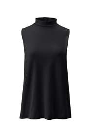 Women's Tall Sleeveless Mock Neck Top