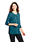 Women's Petite Knot Front Tunic