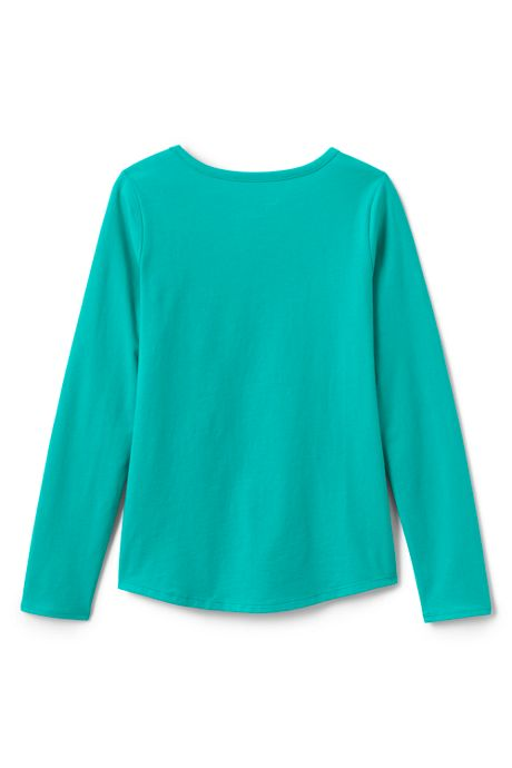 Toddler Girls Long Sleeve Core Tee