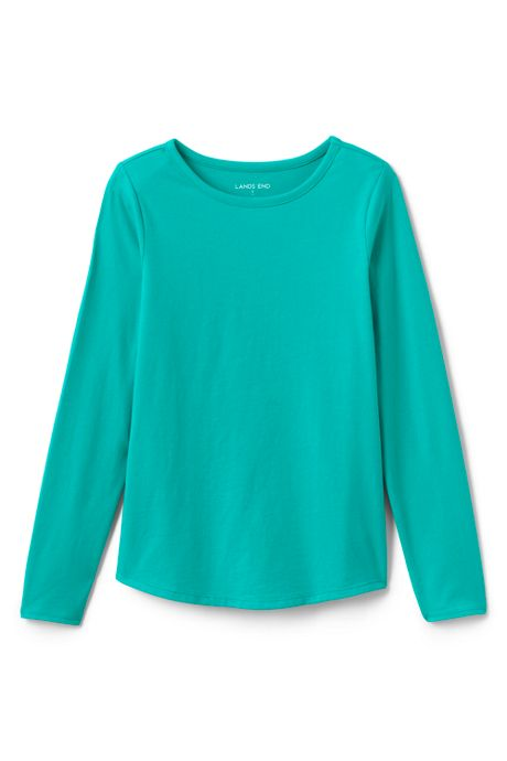 Girls Long Sleeve Core Tee