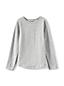 Langarm Jersey-Shirt für kleine Mädchen