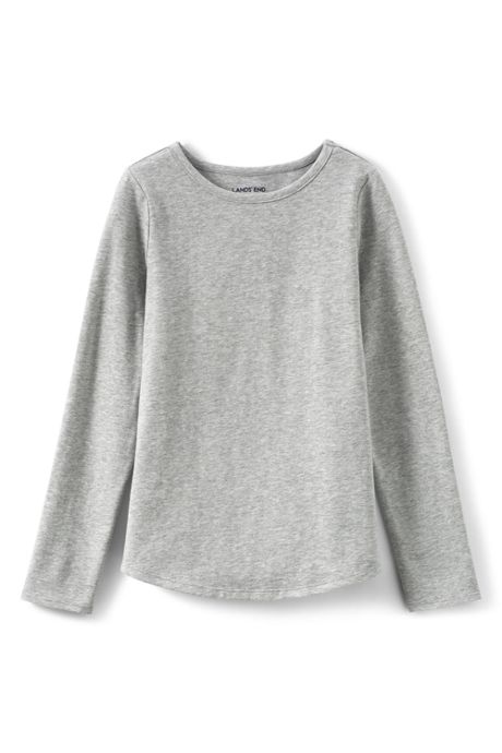 Girls Plus Size Long Sleeve Core Tee