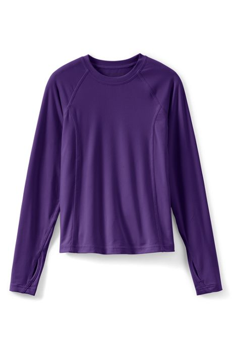 Girls Thermaskin Long Underwear Crew Neck Shirt