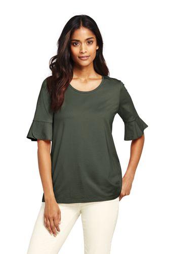 Women's Petal Sleeve Top