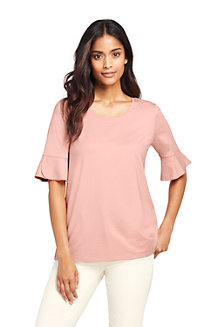 Women's Petal Sleeve Top