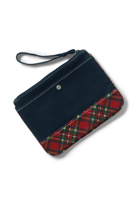 Medium Print Canvas Pouch