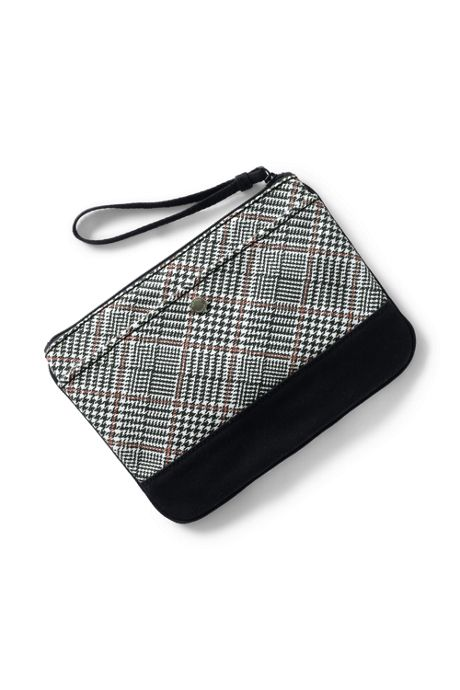 Print Canvas Zipper Pouch