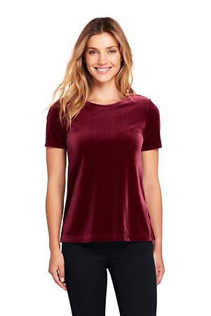 2d3ec651 Women's Velvet T-shirt | Lands' End