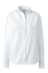 Women's Adaptive Long Sleeve Oxford Dress Shirt