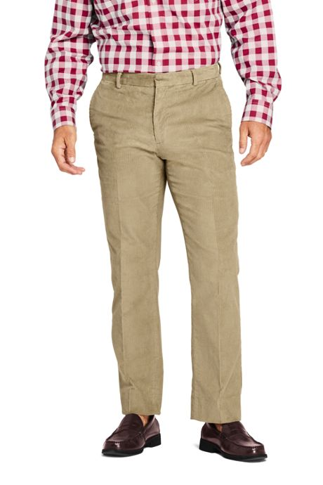 Men's Traditional Fit Comfort-First 10 Wale Corduroy Dress Pants