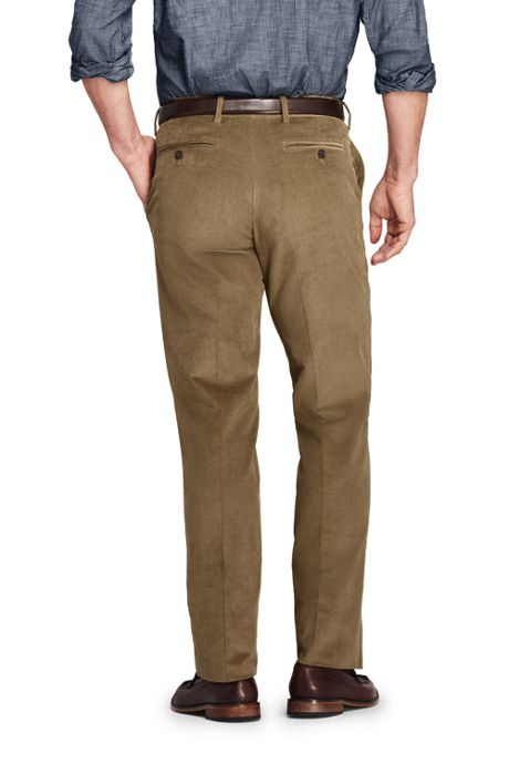 Men's Traditional Fit Comfort-First Fine Wale Corduroy Trousers