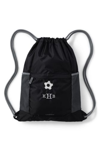 School Uniform Packable Cinch Sack