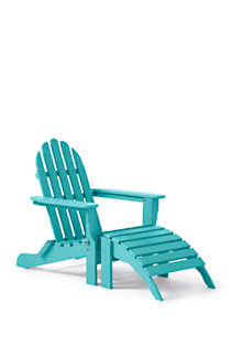 All-Weather Recycled Adirondack Chair, alternative image