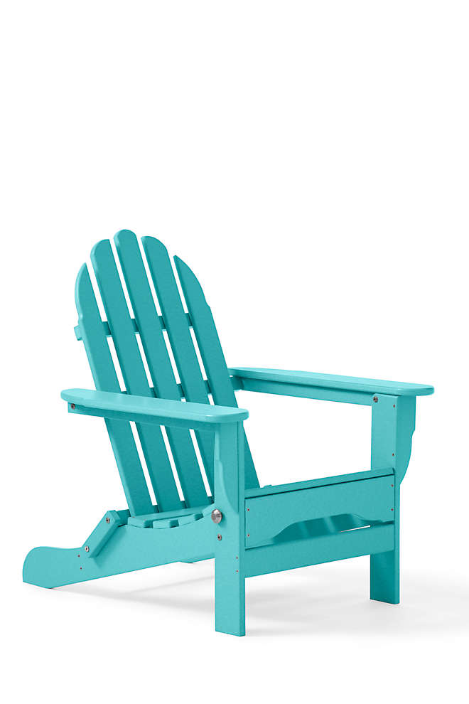 All-Weather Recycled Adirondack Chair, Front