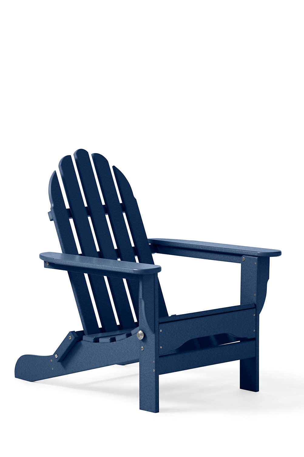 all weather recycled adirondack chair from lands end - Decorating Adirondack Chairs For Christmas