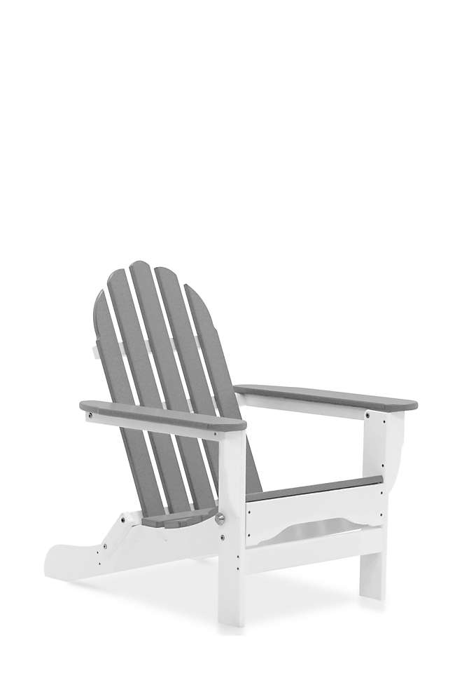 All-Weather Recycled Adirondack Chair 2-Tone, Front