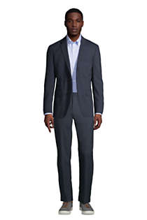 Men's Pattern Tailored Fit Comfort-First Year'rounder Suit Jacket, alternative image