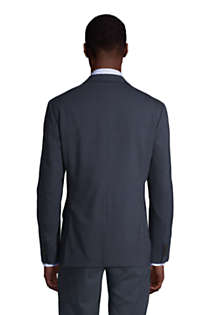 Men's Pattern Tailored Fit Comfort-First Year'rounder Suit Jacket, Back
