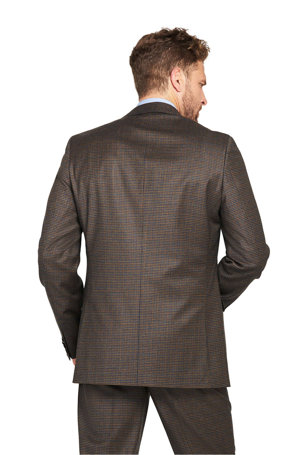 6dee557544d Men s Pattern Traditional Fit Comfort-First Year rounder Suit Jacket ...