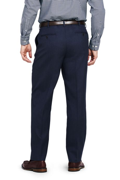 Men's Pattern Traditional Fit Year'rounder Trousers