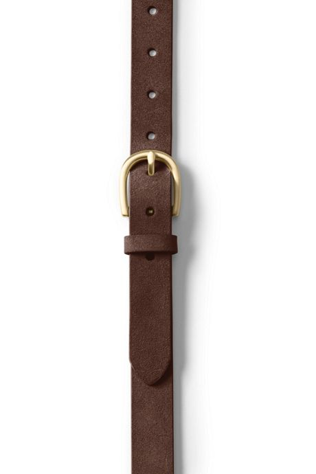 School Uniform Women's Classic Suede Belt