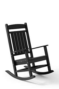 All-Weather Recycled Classic Rocker, Front