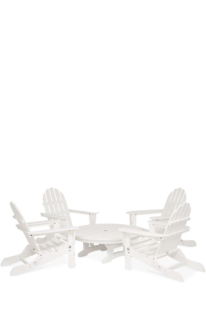 All-Weather Recycled Conversation Set, Front
