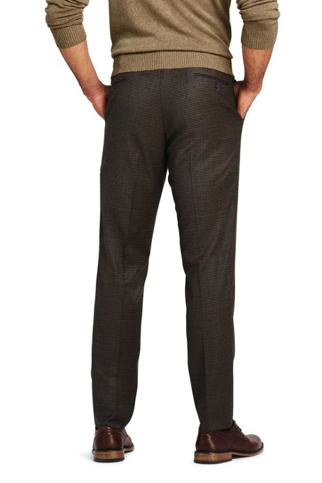Men's Pattern Slim Fit Comfort-First Year'rounder Trousers