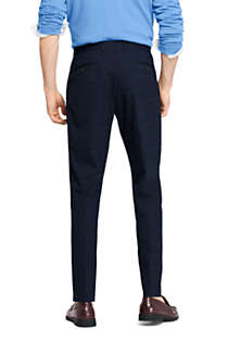 Men's Slim Fit Comfort-First Year'rounder Wool Dress Pants, Back