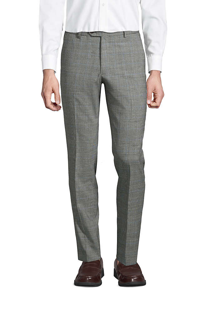 Men's Slim Fit Comfort-First Year'rounder Wool Dress Pants, Front