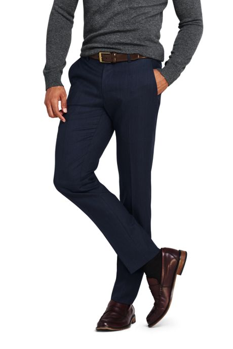 Men's Slim Fit Year'rounder Wool Pants