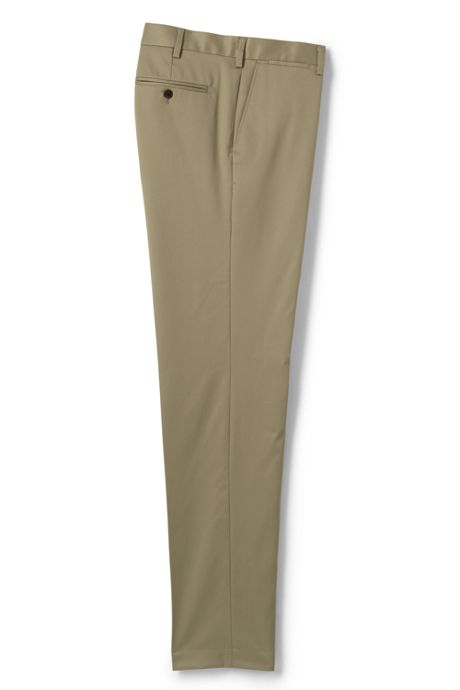 Men's Tailored Fit No Iron Supima Twill Dress Pants
