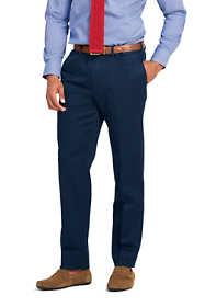 Men's Tailored Fit No Iron Supima Twill Dress Pants