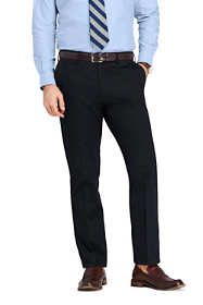 Men's Traditional Fit No Iron Supima Twill Dress Pants