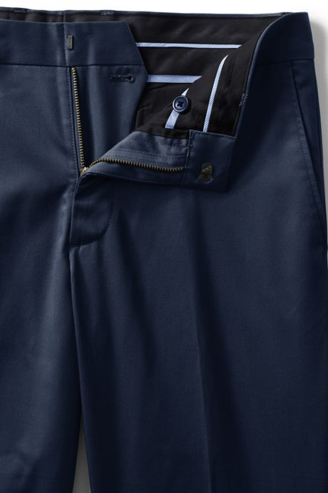 Men's Slim Fit No Iron Supima Twill Dress Pants