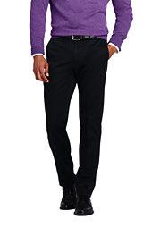 Lands' End Men's Slim Fit Easy Care Supima Twill Dress Pants
