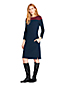 Women's Colourblock Shift Dress with 3-quarter sleeves