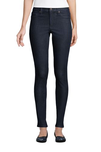 Women's Plus Mid Rise 360° Stretch Slim Jeans