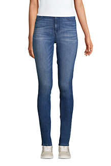 Women's Mid Rise 360° Stretch Slim Jeans