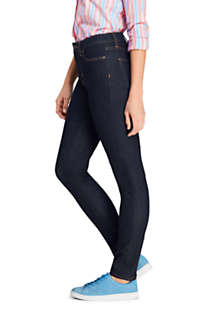 Women's 360 Stretch Mid Rise Straight Leg Jeans - Blue, alternative image