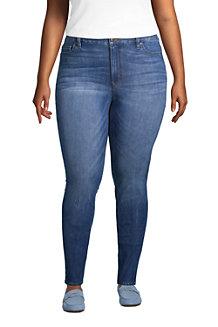 Slim Fit 360° Stretch Jeans in Indigo für Damen
