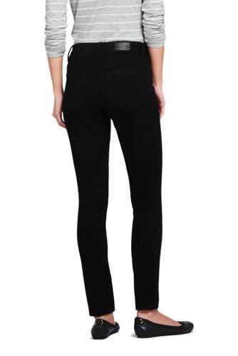 Lands' End - Mid Rise 360° Stretch Slim Black Jeans - 2