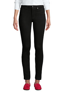 Schwarze Slim Fit 360° Stretch Jeans für Damen
